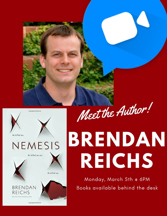 Meet the Author!-Brendan Reichs